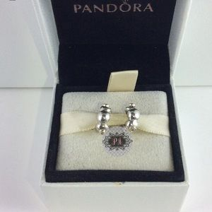 2 Pandora Abstract Spacers W 14k & Diamonds
